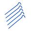 CAMPZ Superzeltnagel - Accesorios para tienda de campaña - 18cm azul
